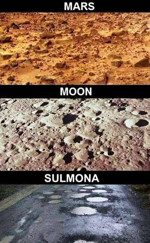 SulMoon: la Barzelletta di Via del Cavallaro e l'incubo dei Crateri da impatto stradale