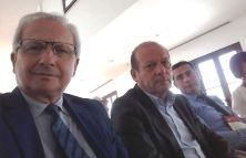 Da sinistra Pellegrino, Leonarduzzi