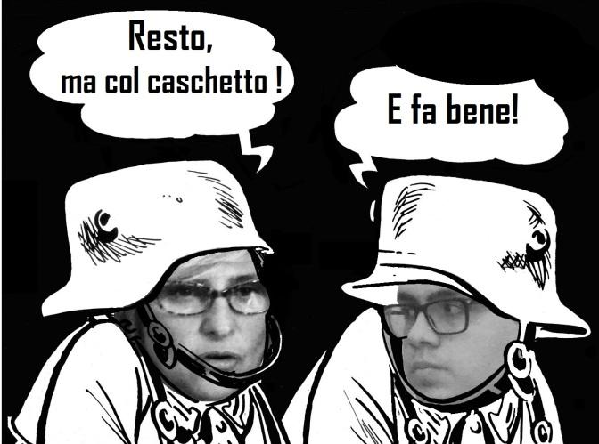 Il Sindaco con i Capelli a Caschetto..