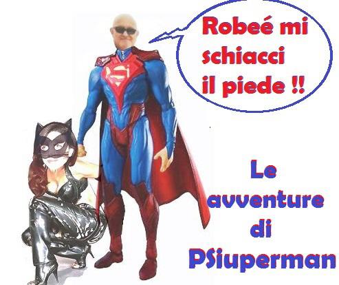 Fake new: Prima Candidata Piddì. Le avventure di PSiuperman: Seconda puntata