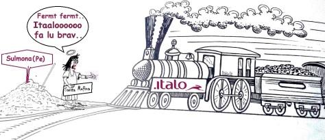 Santa Rufina Caricatura ispirata a Mario Pizzola 2018