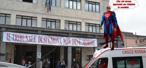 Il supereroe in soccorso del Tribunale Peligno 2018